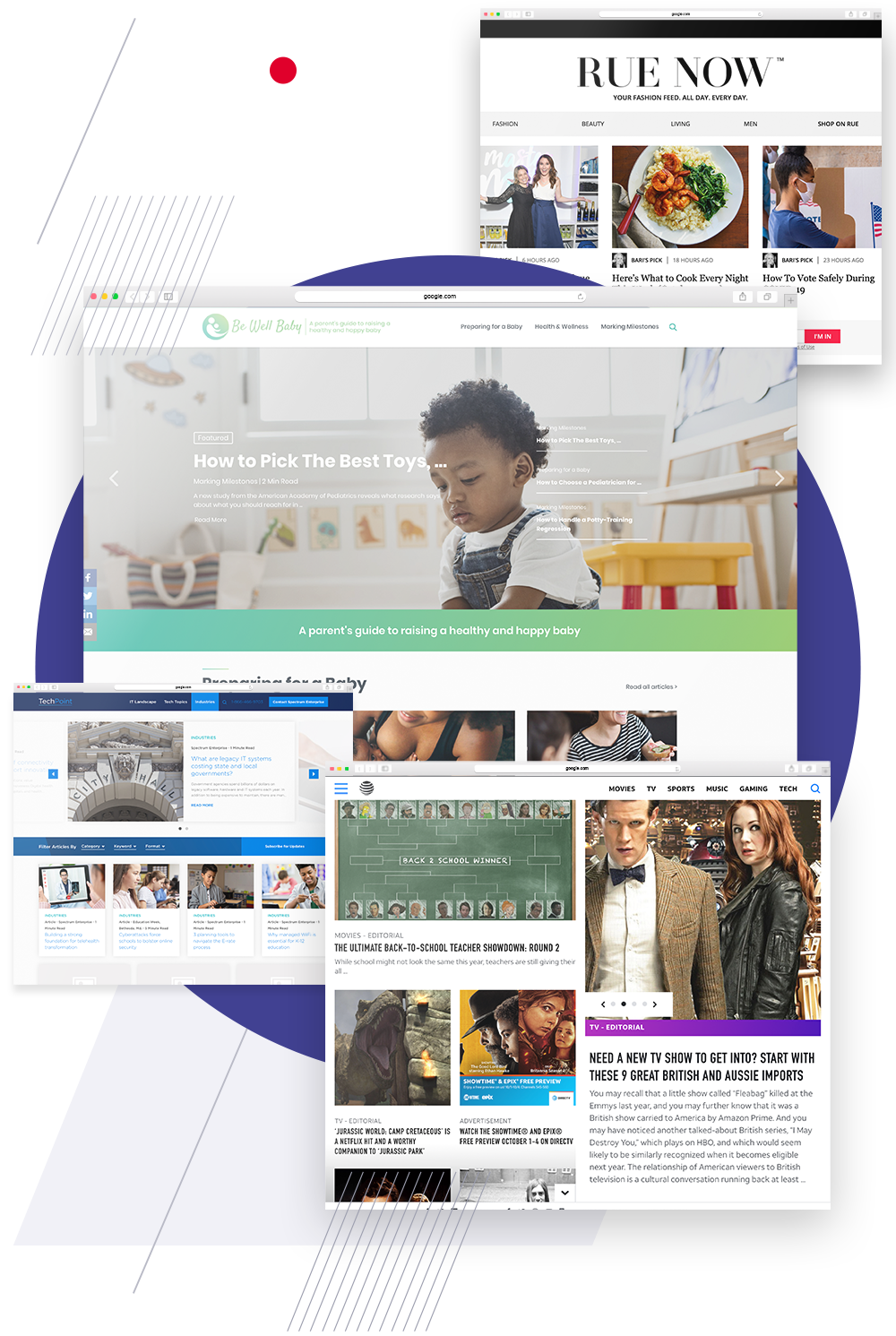 Content marketing optimized hubs